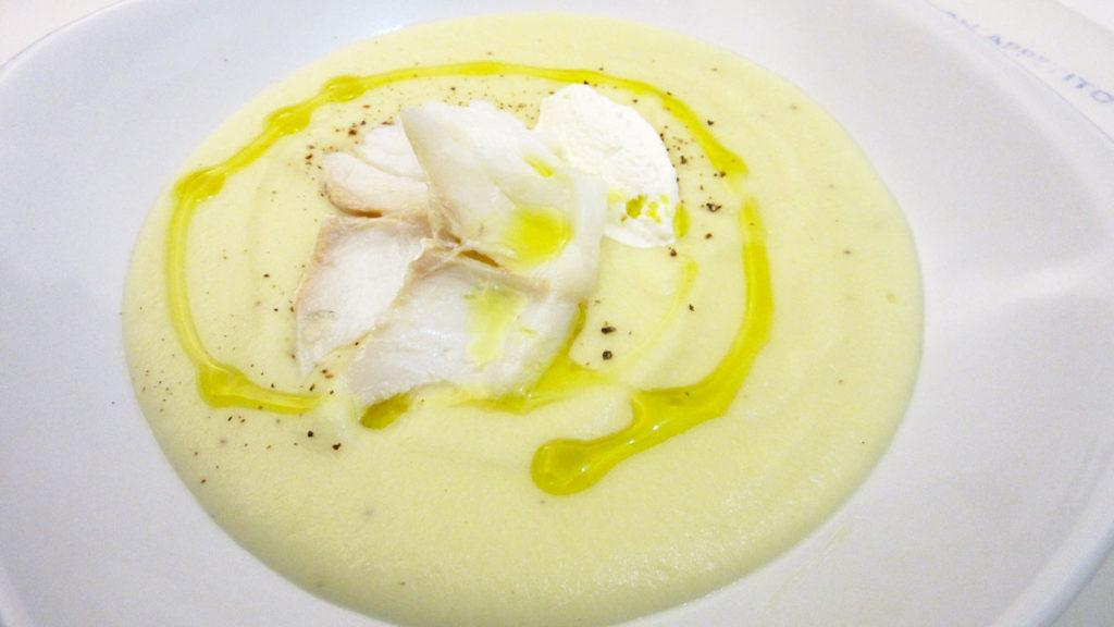 Patate, baccalà e formaggio (Bianco)