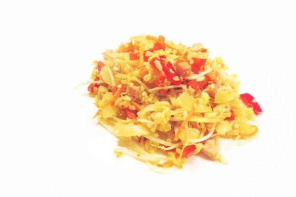 Riso fritto alla cinese (con quello che avevo in frigo)