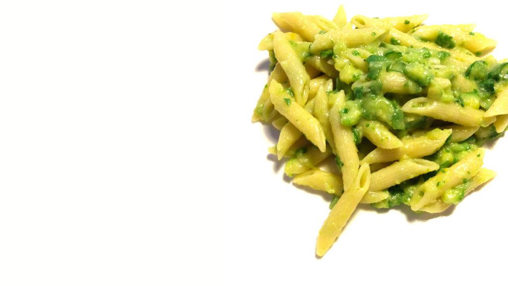Pasta zucchine e limone