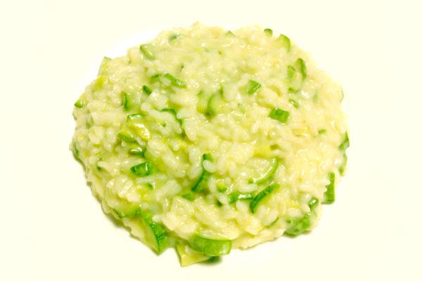 Risotto zucchine e robiola