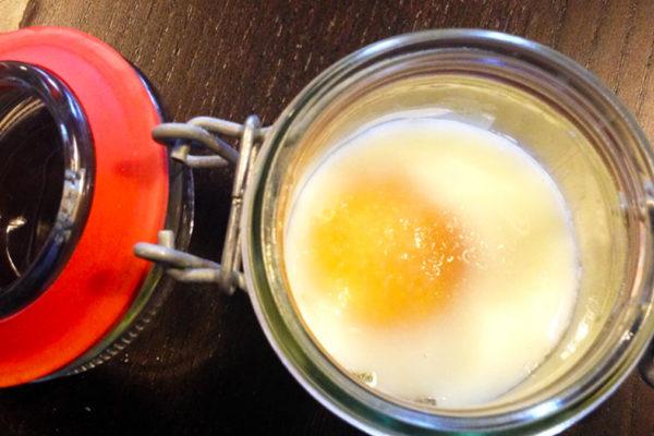 Cuocere le uova in lavastoviglie